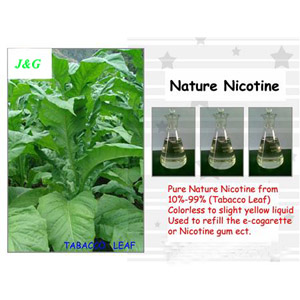 Pure nicotine liquid